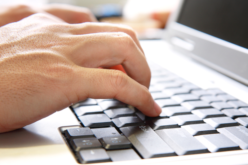 http://www.dreamstime.com/royalty-free-stock-images-hand-computer-keyboard-image13624719